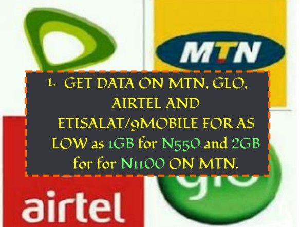 GET Your FREE DISCOUNT SME DATA @ Affordable Prices MTN, GLO